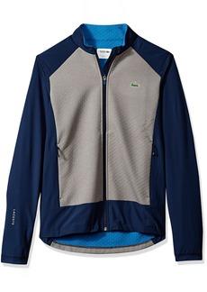 Lacoste Men's Long Sleeve Taffeta Extensible Sweatshirt