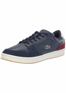 Lacoste Masters Sneaker NVY/Off White/Dark Red  Medium US