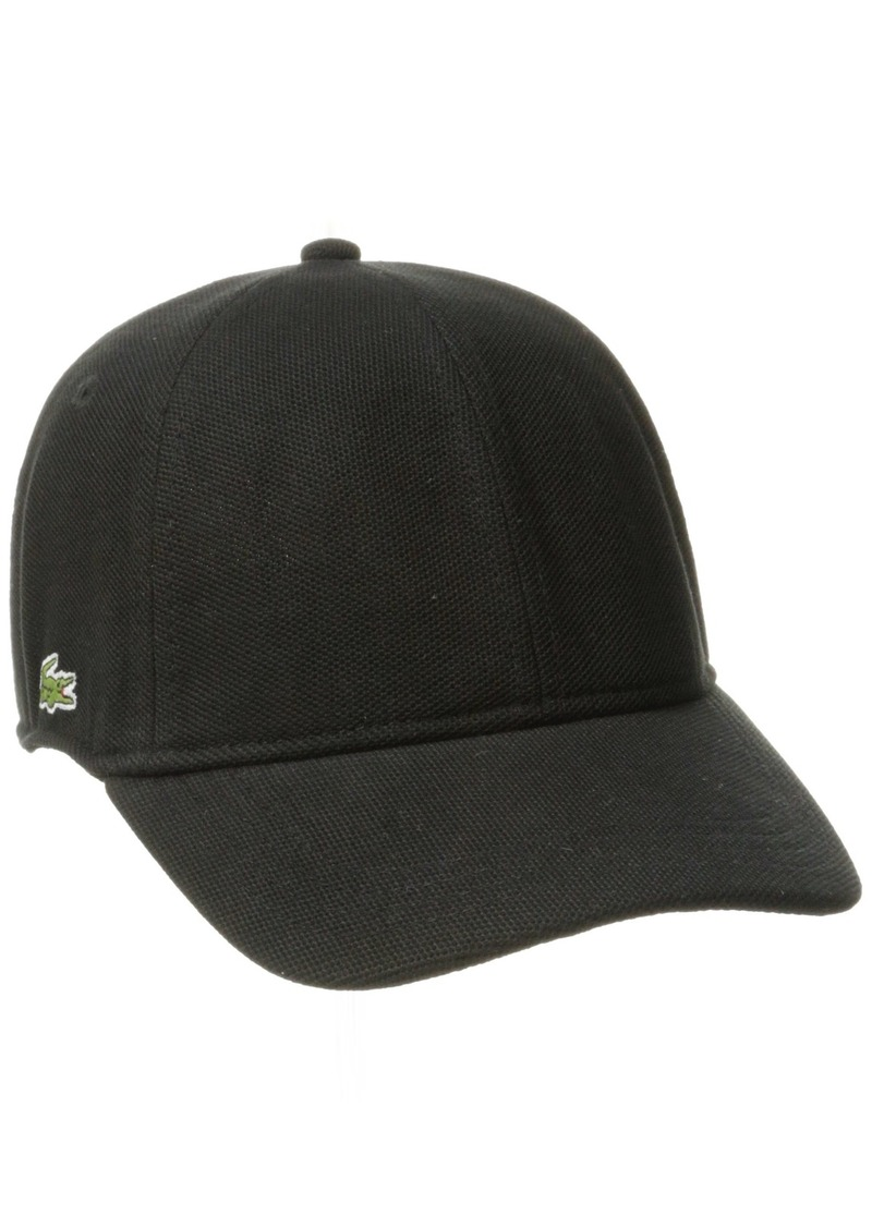 4e84e3a059a Lacoste Lacoste Men s Cotton Pique Cap S