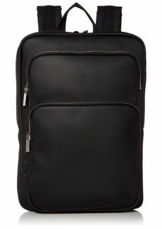 Lacoste Men's MEN'S SMALL CLASSIC SQUARE BACKPACK Accessory -black ONE
