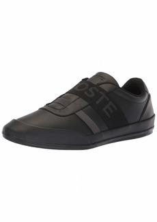 Lacoste Men's Misano Sneaker Black/dak Grey  Medium US
