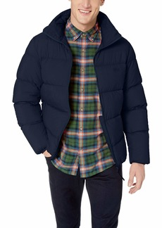 Lacoste Men's Motion Stretch Easy Pack Down Jacket