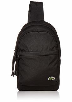 Lacoste Men's Neocroc Strap Mini Backpack black