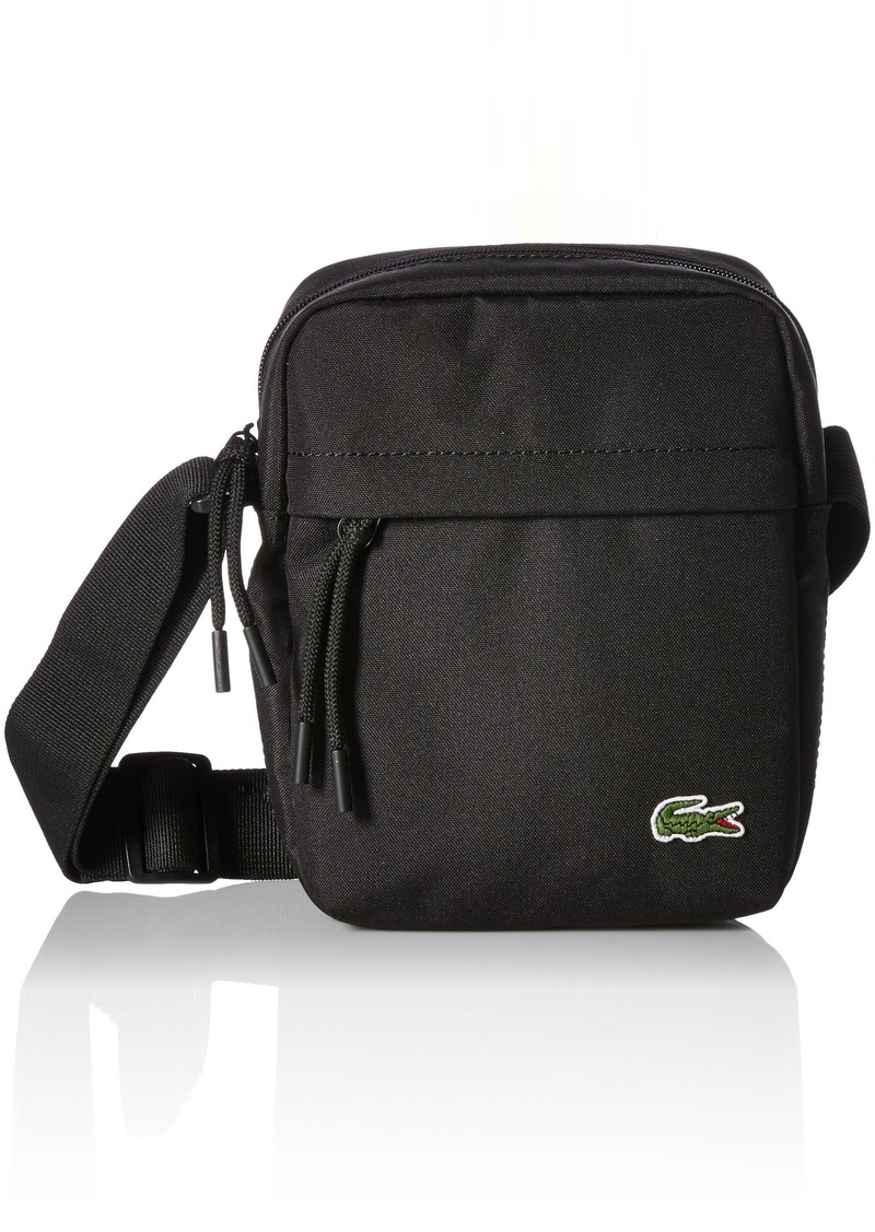 b64697ae31870 On Sale today! Lacoste Lacoste Men s Neocroc Vertical Camera Bag