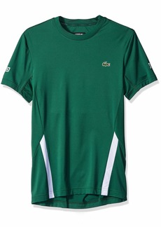 Lacoste Men's Novak Short Sleeve Printed Jersey Tee