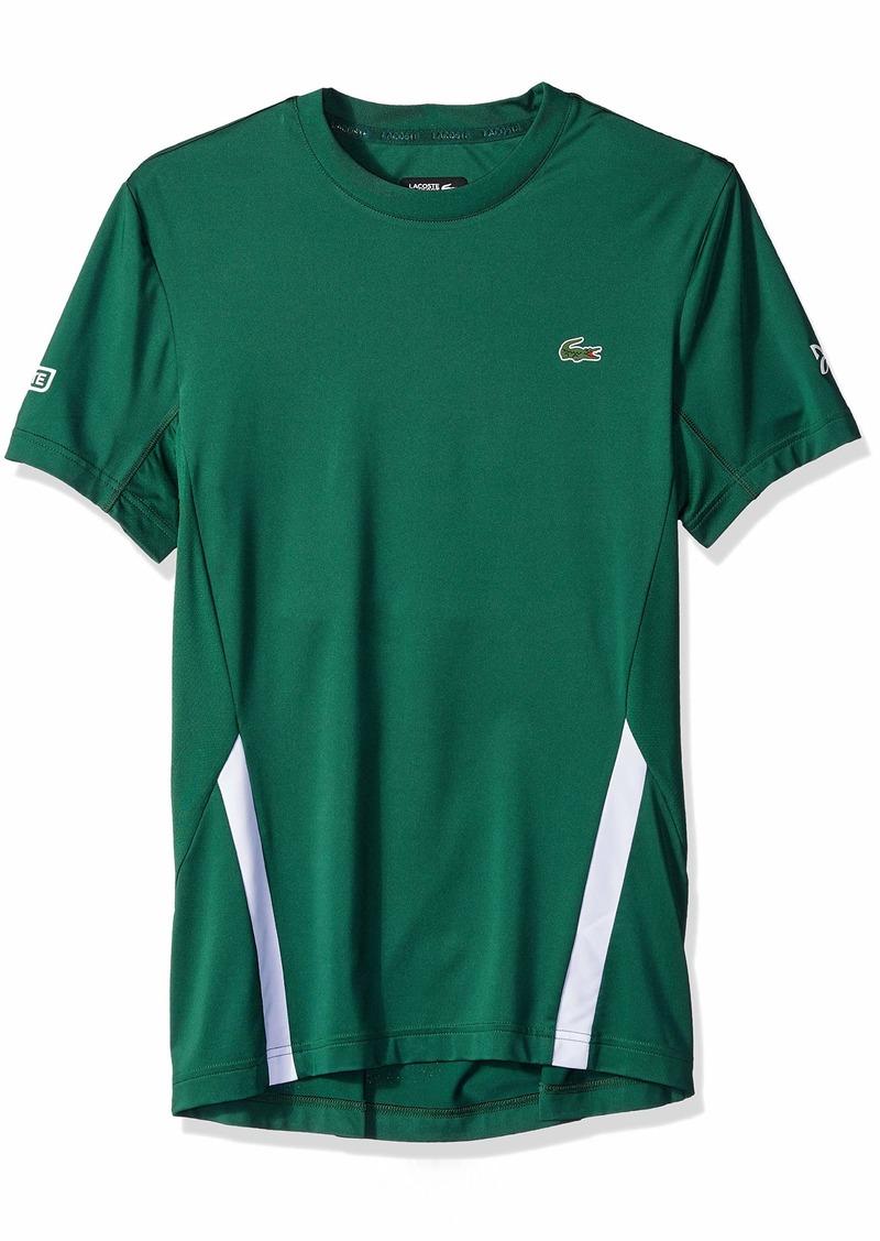 Lacoste Men's Novak Short Sleeve Printed Jersey Tee