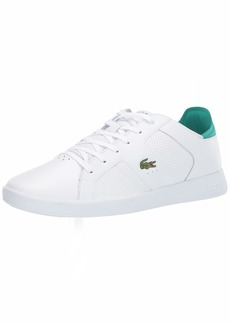 Lacoste Men's Novas Sneaker white/green  Medium US