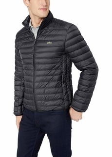 Lacoste Men's Nylon Easy Pack Down Jacket