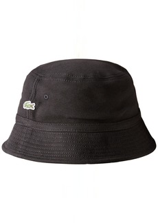 Lacoste Men's Pique Bucket Hat  L