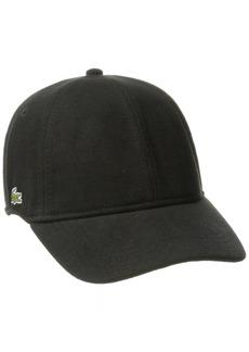 Lacoste Men's Men's Cotton Pique Cap black