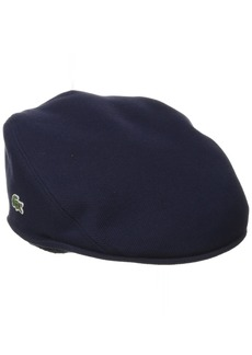 Lacoste Men's Pique Cotton Flat Cap