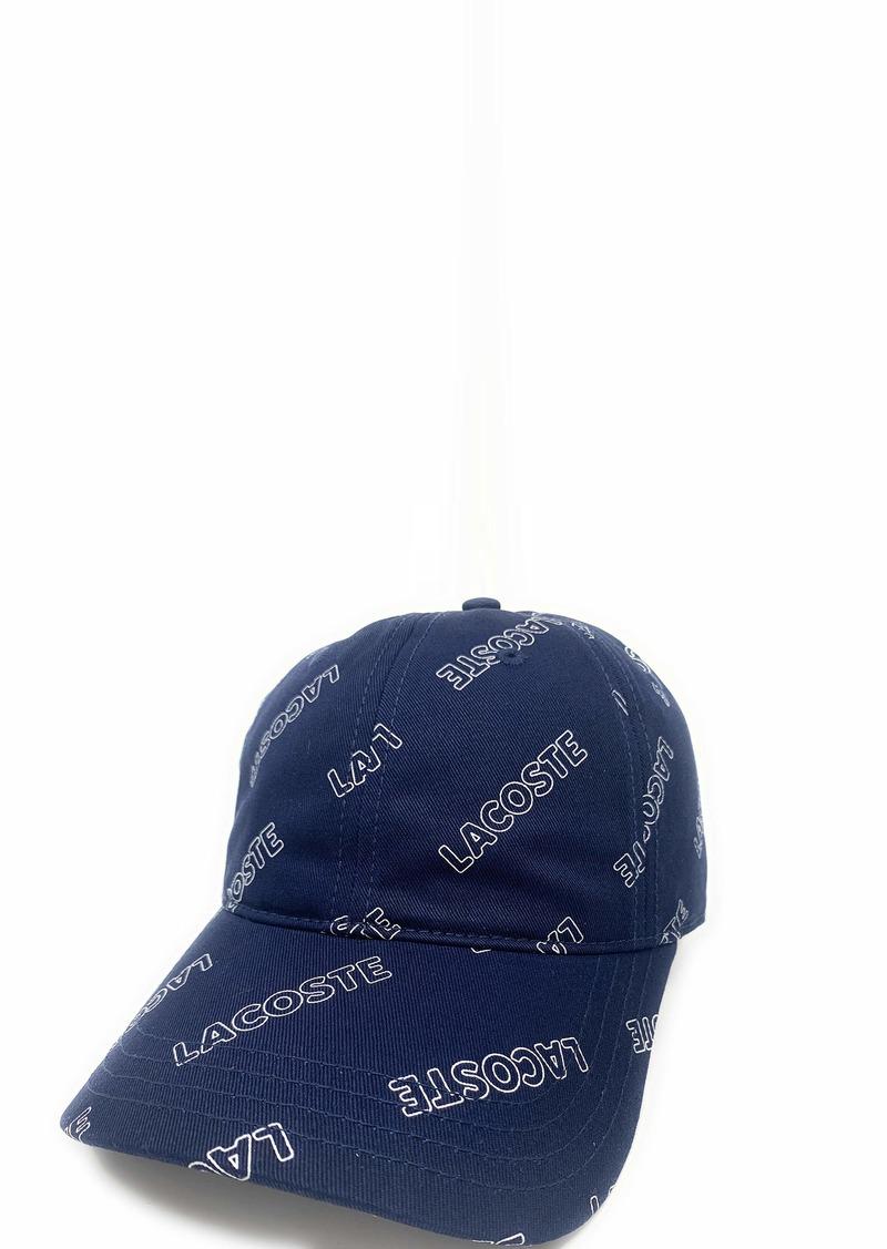 Lacoste Men's Printed Cap  S/M