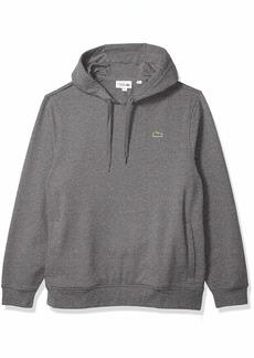 Lacoste Men's Pullover Hooded Fleece  S
