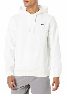 Lacoste Men's Pullover Hooded Fleece WHITE/WHITE XXL