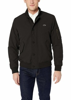 Lacoste Men's Quilted Water-Resistant Bomber Jacket