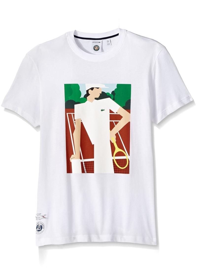 e89f4e06 Men's Rolland Garros Vintage Ad Graphic Tee TH2141-51