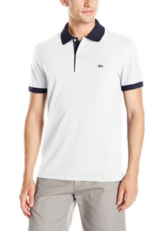 Lacoste Men's Seg 1 Short Sleeve Semi-Fancy Pique Polo  6