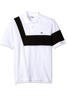 Lacoste Men's Short Sleeve '85th Anni' 00's Striped Polo PH7326