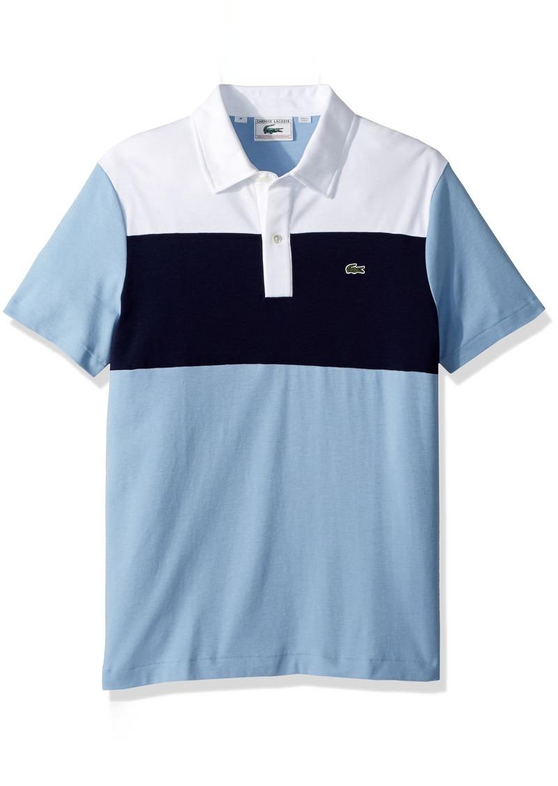 d1c36c45 Men's Short Sleeve '85th Anni' 70's Color Block Pique Slim Fit Polo DH7341