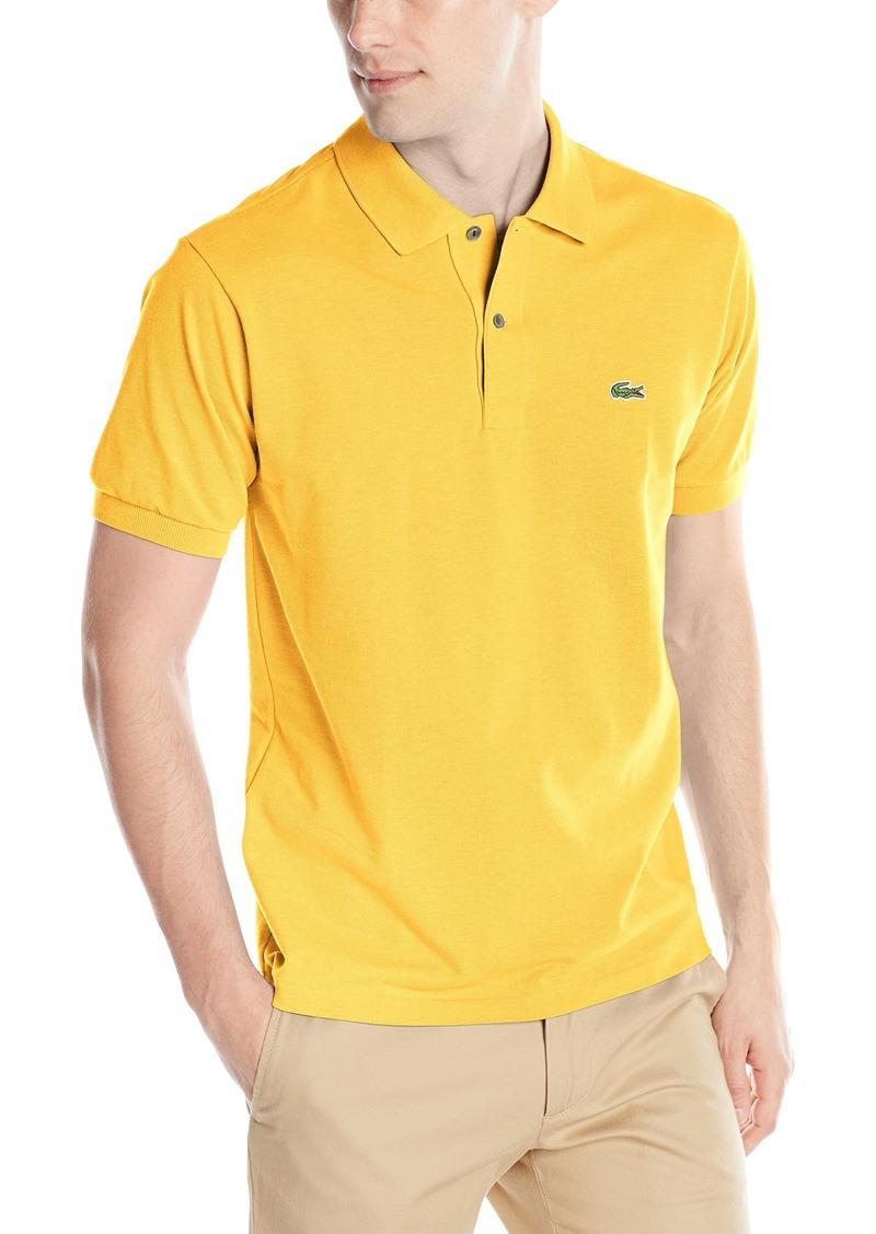 059bc91d5 Lacoste Lacoste Men s Short Sleeve Classic Fit Chine Pique Polo ...