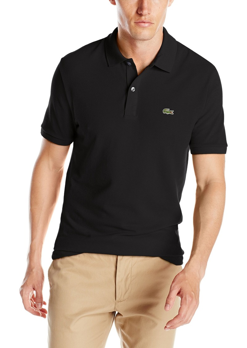 3ca19ff29 Lacoste Lacoste Men s Classic Pique Slim Fit Short Sleeve Polo Shirt ...
