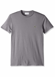 Lacoste Men's Short Sleeve Crew Neck Pima Cotton Jersey Crew Neck Tee  XXXXL