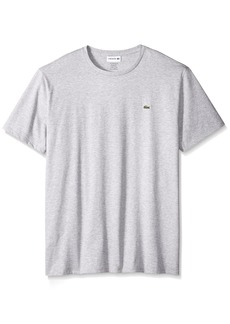 Lacoste Men's Short Sleeve Crew Neck Pima Cotton Jersey T-shirt  XS