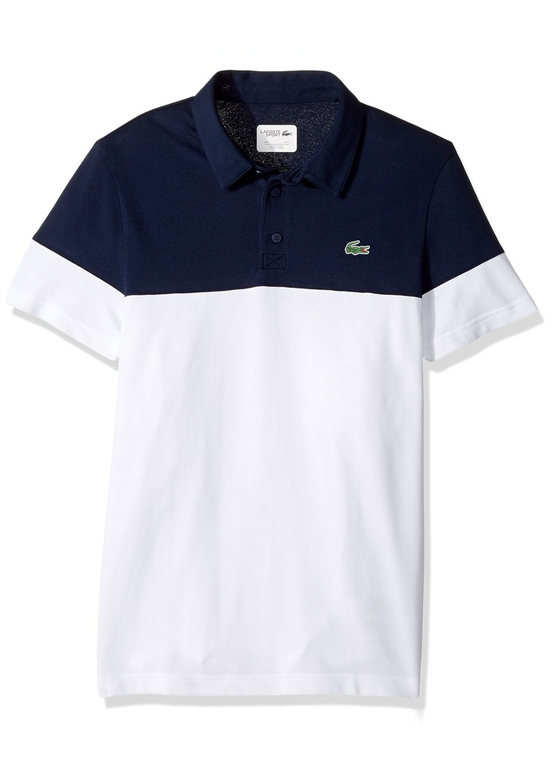 d64ae857a Lacoste Color Block Polo Shirt