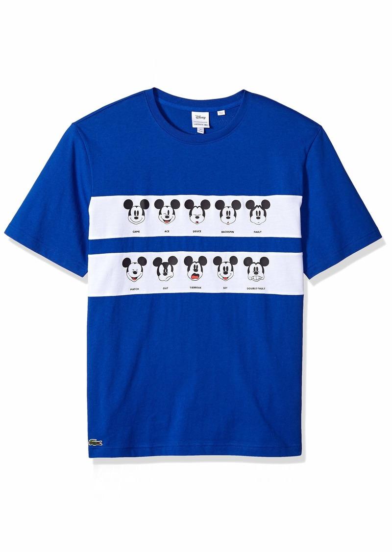 Lacoste Men's Short Sleeve Jersey Mickey TEE  4X-Large