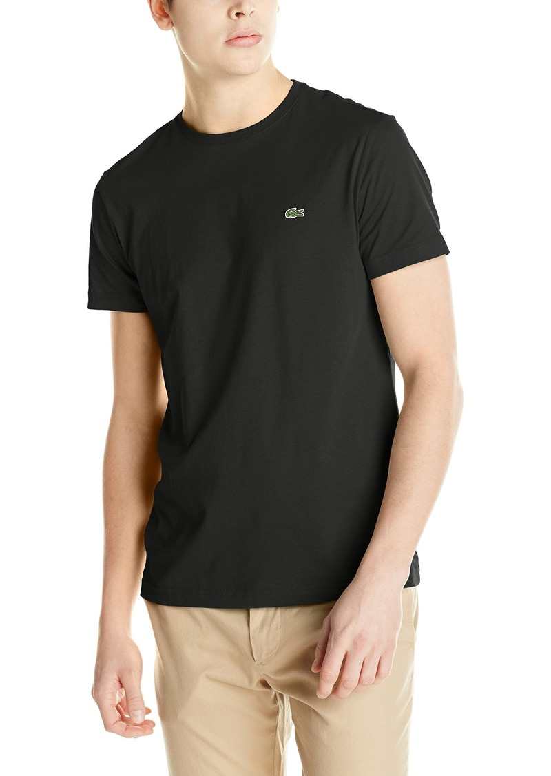 Lacoste Men's Short Sleeve Jersey Pima Regular Fit Crewneck T-Shirt  8