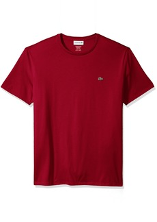 Lacoste Men's Short Sleeve Jersey Pima Regular Fit Crewneck T-Shirt TH6709-51