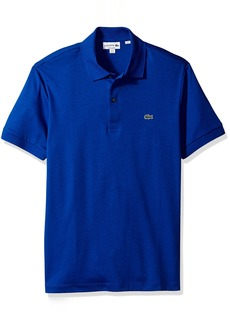 Lacoste Men's Short Sleeve Pima Jersey Interlock Regular Fit Polo DH2050