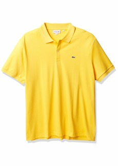Lacoste Men's Short Sleeve Pima Jersey Interlock Regular Fit Polo  XXL