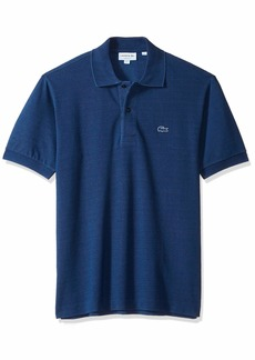 Lacoste Men's Short Sleeve REG FIT Indigo Pique Blue Pack Polo INDIGOTIER