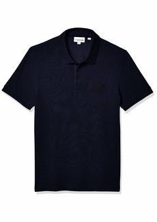 Lacoste Men's Short Sleeve Regular Fit Tonal Pique Polo Shirt  S