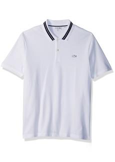 cbe5ff6ed2217 Lacoste Lacoste Men s Lve Short Sleeve Big Croc Polo-Regular Fit ...