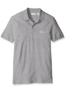 Lacoste Men's Short Sleeve Stretch Pique Rubber Croc Slim Fit Polo-PH57893