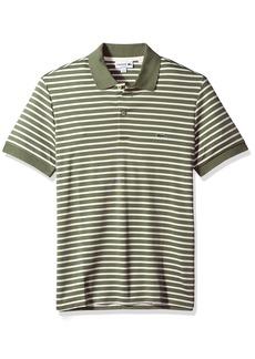 Lacoste Men/'s Classic Piqué L.12.12 Polo Shirt Mesh $89.50 Cocktail Green 6//XL