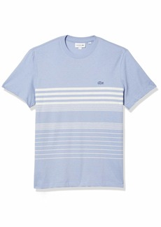 Lacoste Men's Short Sleeve Striped Regular Fit T-Shirt  4XL