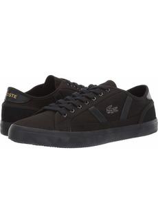 Lacoste Men's Sideline Sneaker Black  Medium US
