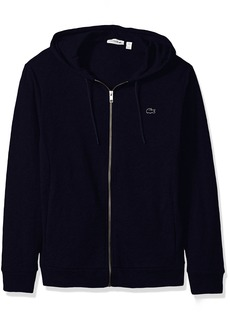 Lacoste Men's Slubby Lightweight Fleece Full Zip Sweater SH3594