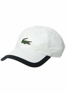 Lacoste Men's Sport Big Croc Semi Fancy Microfiber Cap  ONE