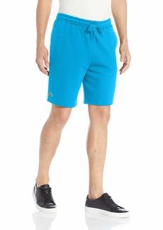 Lacoste Mens Sport Fleece Short Tennis Shorts Light blue