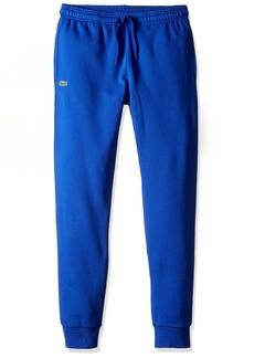 Lacoste Men's Sport Fleece Trackpant with Rib Leg Opening XH5528