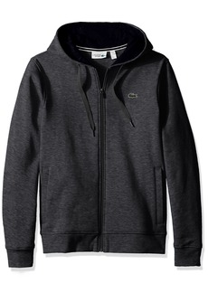 Lacoste Men's Full Zip Hoodie Fleece Sweatshirt SH7609