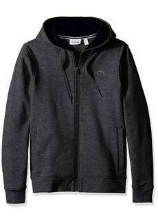 Lacoste Men's Full Zip Hoodie Fleece Sweatshirt SH7609  3XL