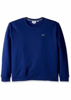 Lacoste Mens Sport Long Sleeve Crew Neck Fleece Sweatshirt Sweatshirt  3XL