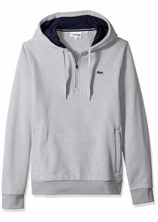 Lacoste Men's Sport Long Sleeve Half Zip Fleece Hoodie