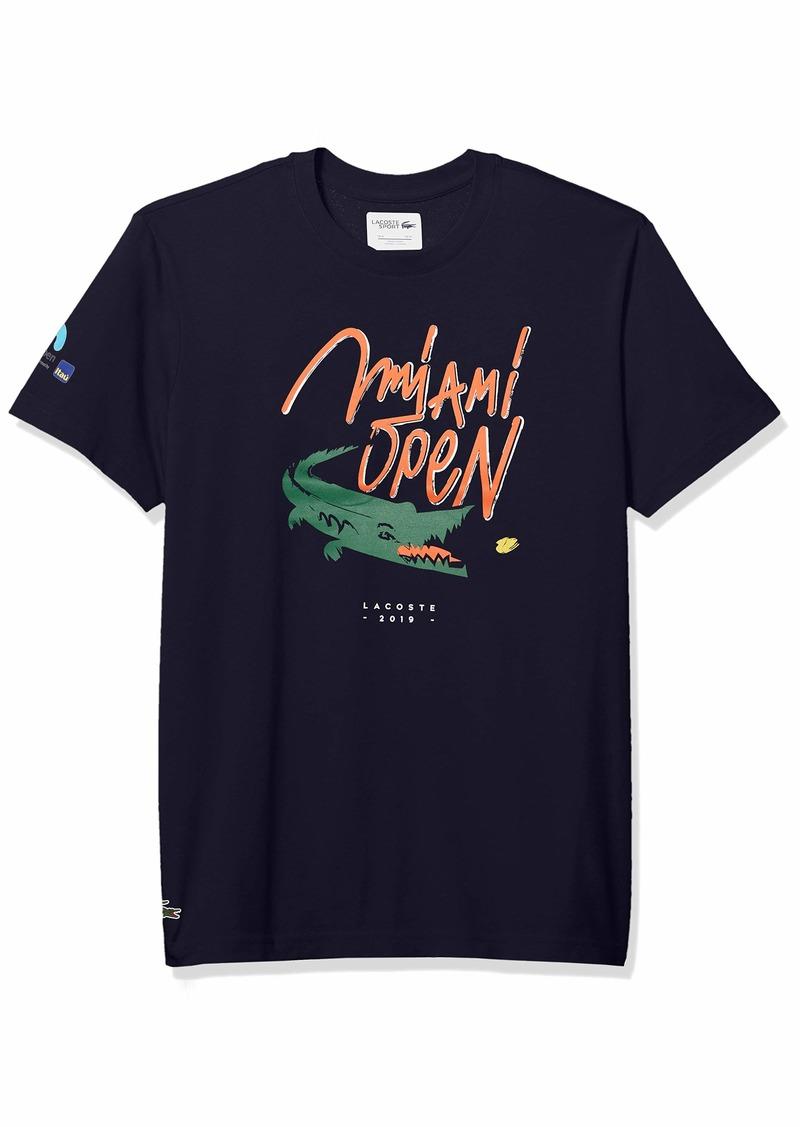 Lacoste Men's Sport Miami Open Edition Croc T-Shirt  M