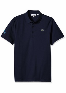 Lacoste Men's Sport Miami Open Edition Ultra Light Cotton Polo  L